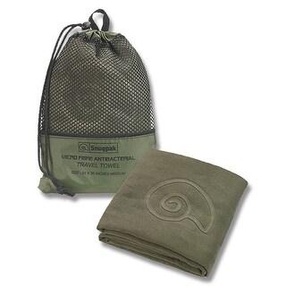 "Snugpak Travel Towel - Head To Toe Olive 47"" X 49"" - 96950"