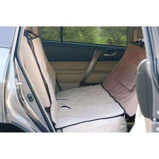 """K&H Pet Products Deluxe Car Seat Saver Tan 54"""" x 58"""" x 0.25"""""""
