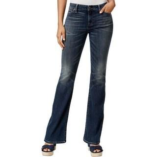 Tommy Hilfiger Womens Flare Jeans Flare-Leg Vintage Wash
