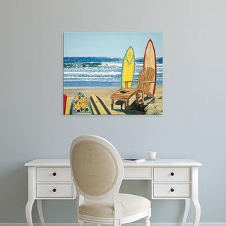 Easy Art Prints Scott Westmoreland's 'Board Meeting' Premium Canvas Art