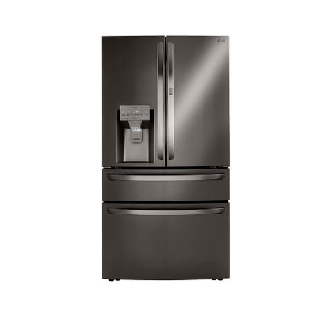 LG LRMDC2306D 23 cu.ft. French Door, Counter Depth-Black Stainless