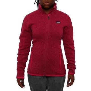 Patagonia Women Better Sweater Jacket Fleece Radiant Magenta