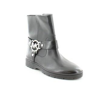 MICHAEL Michael Kors Fulton Biker Bootie Women's Boots Black