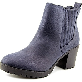 Material Girl Nina Women Round Toe Synthetic Ankle Boot