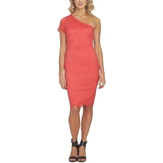 1.State Womens Casual Dress Lace One Shoulder