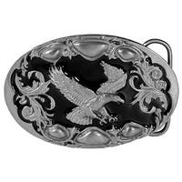 Flying Eagle Enamel Belt Buckle