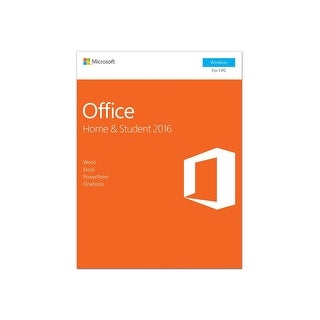 Microsoft Office 2016 Home and Student Windows 1 PC Key Card (79G-04589)