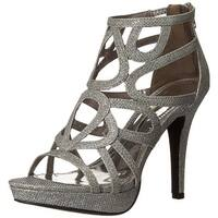Report Signature Womens Rocko Open Toe Ankle Strap Platform Pumps