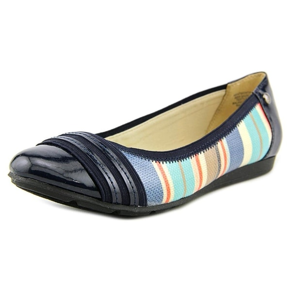 b321cc59d8f Shop Anne Klein Sport Atworth Women Round Toe Synthetic Flats - Free ...