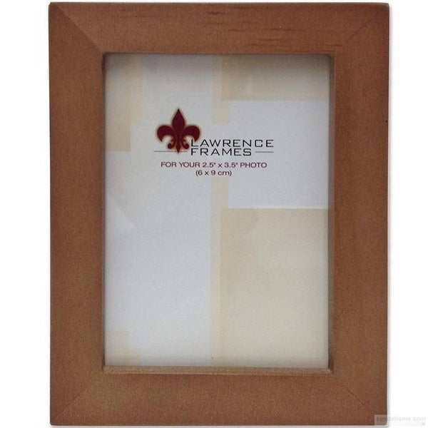 Shop Lawrence Frames 766023 25 X 35 Nutmeg Wood Frame Free