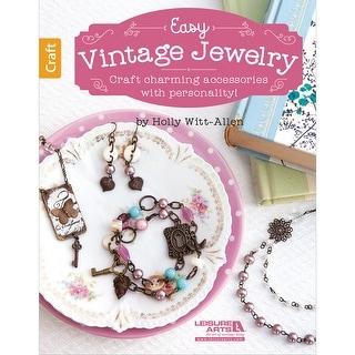 Leisure Arts-Easy Vintage Jewelry