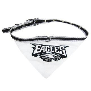 0ac6e94270c Shop Philadelphia Eagles Dog Collar Bandana - Medium - Free Shipping On  Orders Over $45 - Overstock - 20835929