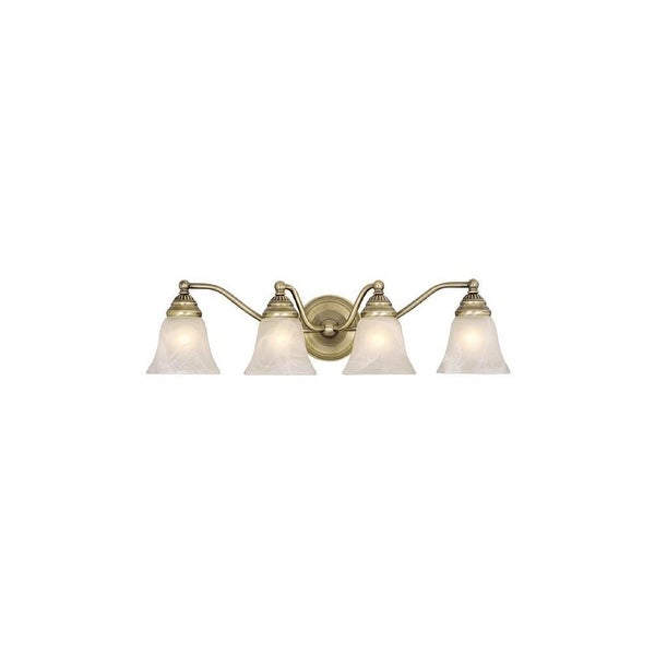 Vaxcel Lighting VL35124 Standford 4 Light Bathroom Vanity Light - 25.38 Inches Wide