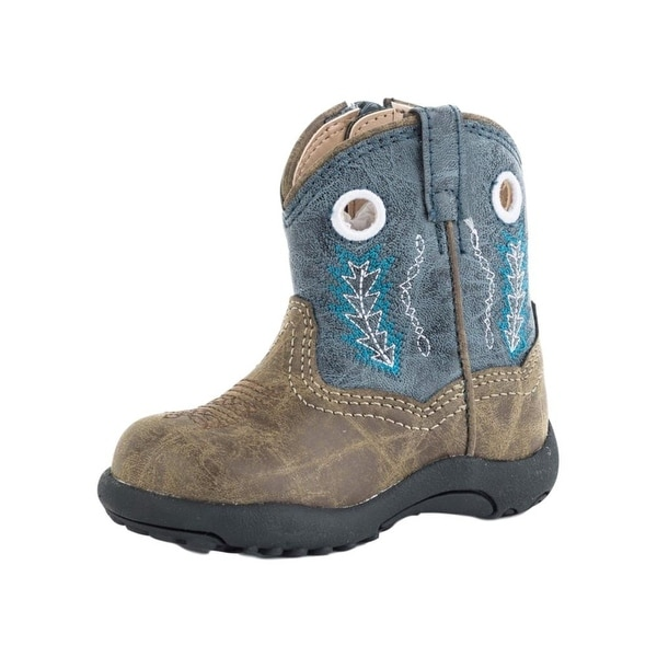 cd13e00b3302 Shop Roper Western Boots Boys Cowbabies Hole Wall Faux - Free Shipping On  Orders Over  45 - Overstock - 27592390