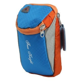 FreeKnight Authorized Sports Traveling Nylon Arm Bag Phone Pack Holder Blue