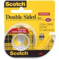 ".5""X250"" - Scotch Permanent Double-Sided Tape"