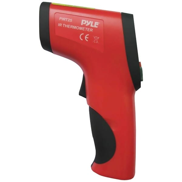 PYLE PRO PIRT25 Compact IR Thermometer with Laser Targeting