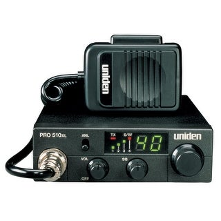 Uniden Pro510XL Cb Radio With 7 Watt Audio Output - PRO510XL