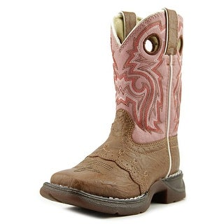 Durango Lil' Flirt Toddler Round Toe Synthetic Pink Western Boot