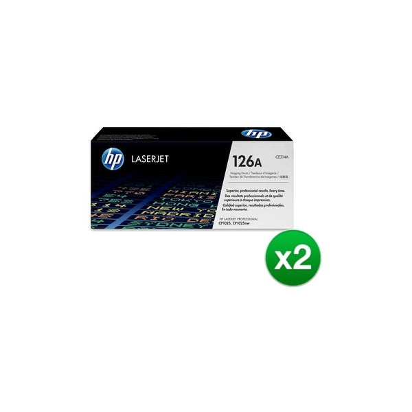 HP 126A Original Laserjet Imaging Drum (CE314A)(2-Pack)