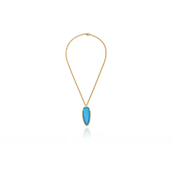 Arrowhead Necklace in Turquoise