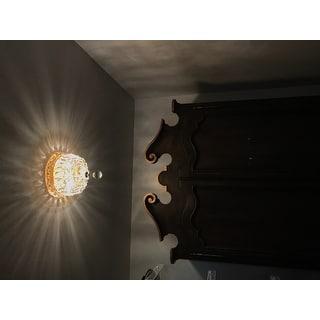 Somette Gold 2-Light Chandelier