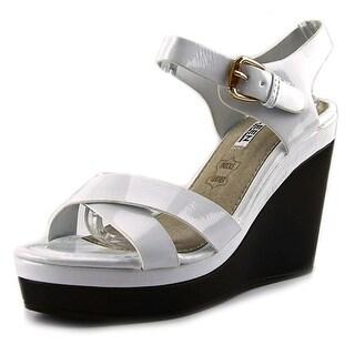 Kayleen by Los Angeles Danuta-2 Women Open Toe Synthetic Wedge Sandal