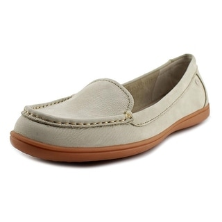 Hush Puppies Ryann Claudine Women W Moc Toe Leather Loafer