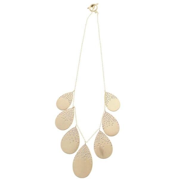 Karen Kane Womens Pendant Necklace Crystal Pave
