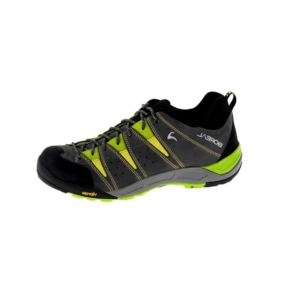 Boreal Climbing Shoes Mens Lightweight Sendai Gris Gray