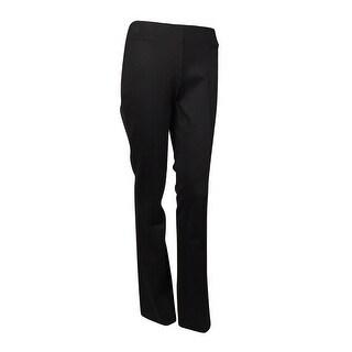 INC International Concepts Women's Boot Leg Ponte Pants
