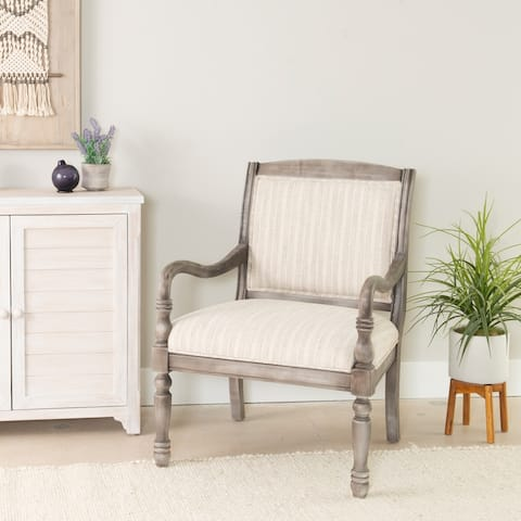 Powell Bartley Grey Accent Chair