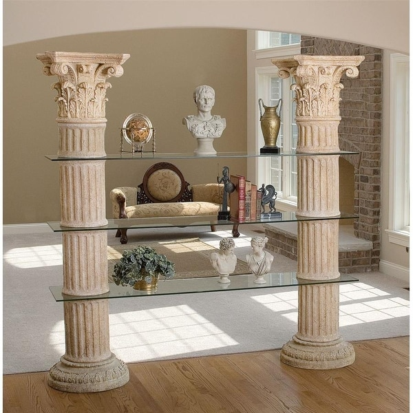 Delicieux Shop Columns Of Corinth Shelves DESIGN TOSCANO Furniture Shelves Corinth  Columns   Free Shipping Today   Overstock   20992430