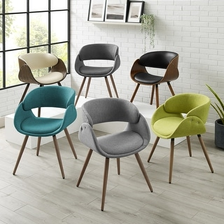 Link to Corvus Mid-century Modern Accent Chair Similar Items in Living Room Chairs