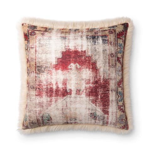 Alexander Home Savannah Distressed Southwestern Throw Pillow