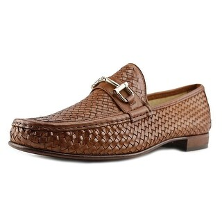 Mercanti Fiorentini 855 Moc Toe Leather Loafer