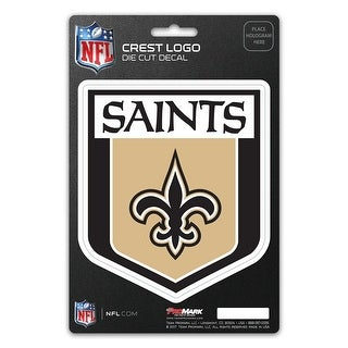 New Orleans Saints Decal Shield Design