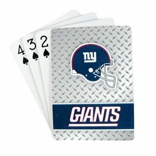 New York Giants Playing Cards - Diamond Plate