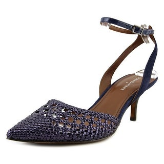 Donald J Pliner Fresia Women  Pointed Toe Synthetic Blue Heels