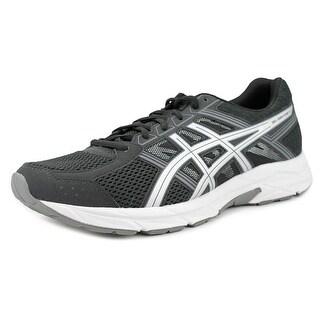 Asics Gel-Contend 4 Men Round Toe Synthetic Black Running Shoe