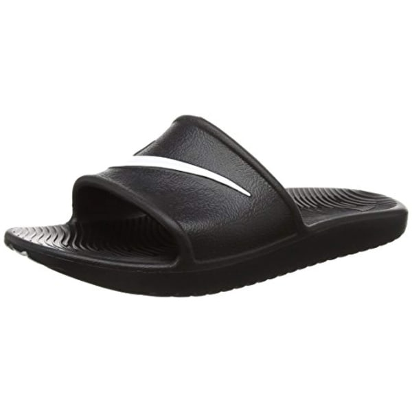 finest selection e4e24 95e8e Nike Kawa Shower Slide Sandals Black/White Men's Size 8
