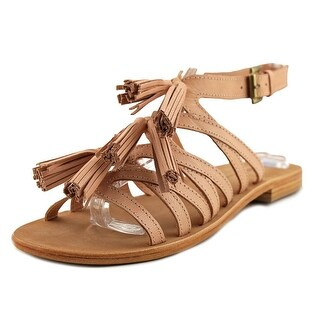 MTNG 97416 Open-Toe Leather Slingback Sandal