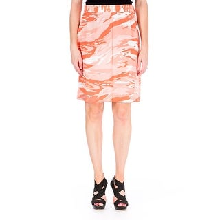 Mother of Pearl Womens Vida Silk Crepe A-Line Skirt