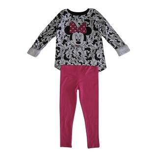 Disney Little Girls White Black Pink Minnie Mouse Print 2 Pc Pant Set https://ak1.ostkcdn.com/images/products/is/images/direct/cbb8dd8e054459affec48586739d4b68a988f2ac/Disney-Little-Girls-White-Black-Pink-Minnie-Mouse-Print-2-Pc-Pant-Set-4-6X.jpg?impolicy=medium