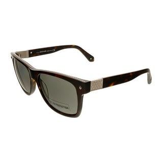 Roberto Cavalli RC955S 52A Dark Havana Square Sunglasses - dark havana