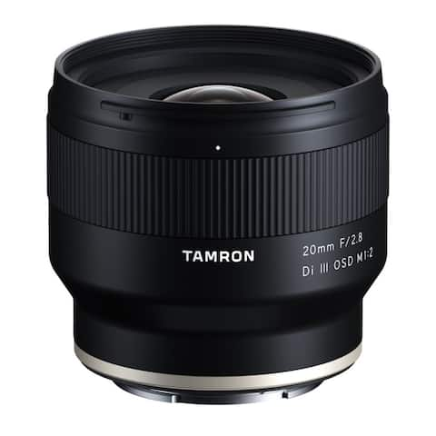 Tamron 20mm f/2.8 Di III OSD Wide-Angle Prime Lens for Sony E-Mount