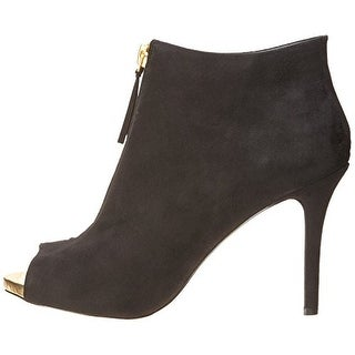 Madden Girl Women's Ripsterr Peep Toe Ankle Booties