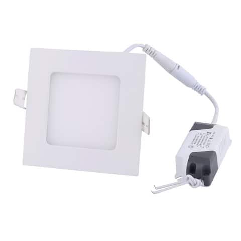 White 4W Square Restaurant LED Recessed Ceiling Panel Down Light Bulb AC85-265V