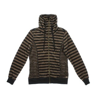 Calvin Klein Womens Velour Long Sleeves Jacket - XS
