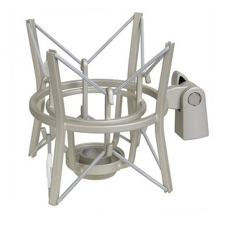LyxPro MKS1-S Studio Condenser Spider Shockmount, Anti Vibration and Isolation - Silver